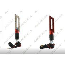 Купить Поворот светодиодный, катана   (15 LED, красный, тюнинг)   JS в Интернет-Магазине LIMOTO