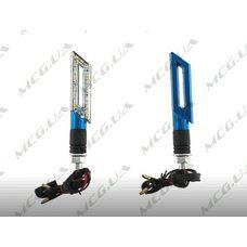 Купить Поворот светодиодный, катана   (15 LED, синий, тюнинг)   JS в Интернет-Магазине LIMOTO