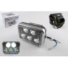 Фара светодиодная прямоугольная (крепеж 180mm, многоцветная подсветка, пластик)   Feili Купить в Интернет-Магазине LIMOTO
