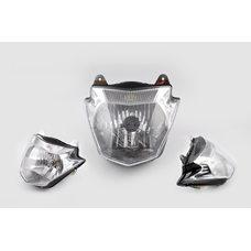 Купить Фара (в сборе)   Yamaha YBR125   (mod: A)   ESD в Интернет-Магазине LIMOTO