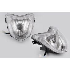 Купить Фара универсальная (+лампы габаритная, галогенная) Ф1 в Интернет-Магазине LIMOTO