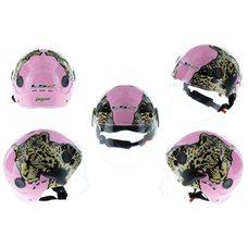 Купить Шлем открытый   (mod:101) (классическая форма, прозрачный визор) (size:XL, розовый JAGUAR)   LS2 в Интернет-Магазине LIMOTO
