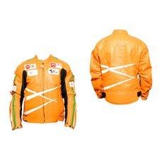 Купить Мотокуртка   DAQINESE   (кожзам) (size:L, оранжевая) в Интернет-Магазине LIMOTO