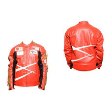 Купить Мотокуртка   DAQINESE   (кожзам) (size:M, красная) в Интернет-Магазине LIMOTO
