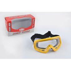 Купить Очки кроссовые   (mod:M-01, желтые) в Интернет-Магазине LIMOTO