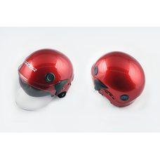 Купить Шлем открытый   (mod:101) (классическая форма, прозрачный визор) (size:XL, красный)   LS2 в Интернет-Магазине LIMOTO