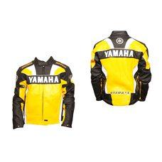 Купить Мотокуртка   YMH   (кожзам) (size:XXXL, желтая) в Интернет-Магазине LIMOTO