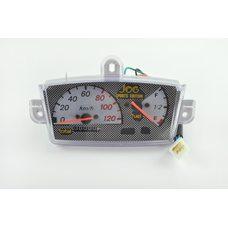 Купить Панель приборов (в сборе)   Yamaha JOG   (120км/ч, серебро, sport edition) (mod:MY-214) в Интернет-Магазине LIMOTO
