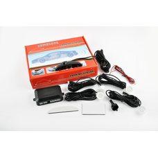 Купить Парктроник    mod:LH-811B   (датчики белые 4шт, LCD, штурман, монтажный комплект)   KAMEILONG в Интернет-Магазине LIMOTO