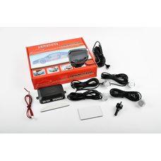 Купить Парктроник   mod:LH-813B   (датчики серебристые 4шт, LCD, штурман, монтажный комплект)   KAMEILONG в Интернет-Магазине LIMOTO