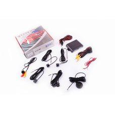 Купить Парктроник   mod:PA104   (датчики черные 4шт, CMOS камера , видеовыход, монтажный комплект)   THOR в Интернет-Магазине LIMOTO