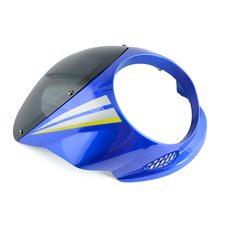 Купить Обтекатель   Zongshen, Lifan 125/150   (синий, под круглую фару)   EVO в Интернет-Магазине LIMOTO