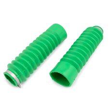 Купить Гофры передней вилки (пара)   Zongshen, Lifan 125/150   (зеленые)   EVO в Интернет-Магазине LIMOTO