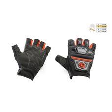 Купить Перчатки без пальцев   (mod:MC-24D, size:M, красные, текстиль)   SCOYCO в Интернет-Магазине LIMOTO
