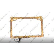 Купить Рамка под номер на скутер   (mod:WL-0175)   KML в Интернет-Магазине LIMOTO