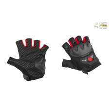Купить Перчатки без пальцев   (mod:MC-29D,size:L, красные)   SCOYCO в Интернет-Магазине LIMOTO