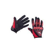 Перчатки   AXE RACING   (size:L, красные)