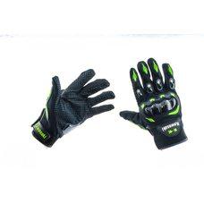 Купить Перчатки   KAWASAKI   (черно-зеленые size L) в Интернет-Магазине LIMOTO