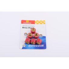 Купить Ролики вариатора   4T GY6 125/150   18*14   17,0г   (красные)   DONGXIN в Интернет-Магазине LIMOTO