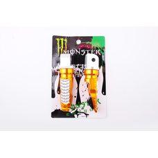 Купить Подножки пассажирские   (mod:1, желтые)   MONSTER ENERGY в Интернет-Магазине LIMOTO