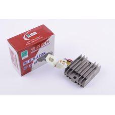 Купить Реле зарядки   Zongshen, Lifan 125/150   (3+3 провода)   JIANXING в Интернет-Магазине LIMOTO