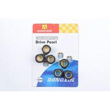Купить Ролики вариатора (тюнинг)   Suzuki   17*12   8,5г   (черные)   DONGXIN в Интернет-Магазине LIMOTO