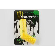 Купить Резинка заводной ножки   MONSTER ENERGY   (универсальная, желтая)   XJB в Интернет-Магазине LIMOTO