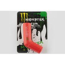Купить Резинка заводной ножки   MONSTER ENERGY   (универсальная, красная)   XJB в Интернет-Магазине LIMOTO