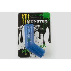 Купить Резинка заводной ножки   MONSTER ENERGY   (универсальная, синяя)   XJB в Интернет-Магазине LIMOTO