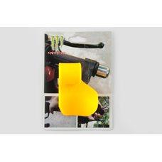 Купить Рычаг круиз контроля ручки газа   MONSTER ENERGY   (универсальный, желтый)   XJB в Интернет-Магазине LIMOTO