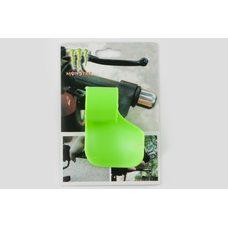 Купить Рычаг круиз контроля ручки газа   MONSTER ENERGY   (универсальный, зеленый)   XJB в Интернет-Магазине LIMOTO