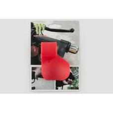 Купить Рычаг круиз контроля ручки газа   MONSTER ENERGY   (универсальный, красный)   XJB в Интернет-Магазине LIMOTO