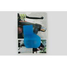 Купить Рычаг круиз контроля ручки газа   MONSTER ENERGY   (универсальный, синий)   XJB в Интернет-Магазине LIMOTO