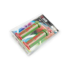 Купить Ручки руля   (mod:1, зелено-красные)   DBS   (#YMBT) в Интернет-Магазине LIMOTO