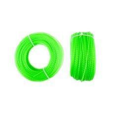 Леска мотокосы   Ø2,0mm, 100 метров   (косичка, зеленая)   BEST