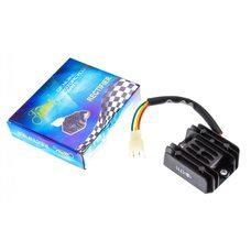 Купить Реле зарядки   Zongshen ZS200GS   (4 провода)   KOMATCU   (mod.A) в Интернет-Магазине LIMOTO