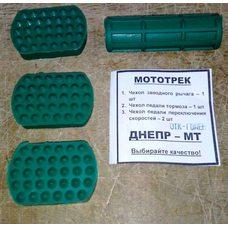 Купить Комплект резинок (тюнинг) (подножки, педали тормоза, ножек)   МТ, ДНЕПР   SKY в Интернет-Магазине LIMOTO