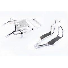 Багажник задний металлический   Delta, Alpha   (с подножками)   EVO