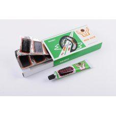 Купить Ремкомплект камеры   (9 латок, клей)   YAT в Интернет-Магазине LIMOTO