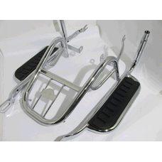 Купить Багажник задний металлический   Delta, Alpha   (с подножками)   ST в Интернет-Магазине LIMOTO