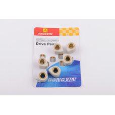 Купить Ролики вариатора (тюнинг)   4T GY6 125/150   18*14   15,0г   (белые)   DONGXIN в Интернет-Магазине LIMOTO