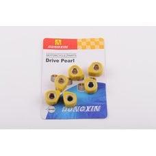 Купить Ролики вариатора (тюнинг)   4T GY6 125/150   18*14   16,0г   (желтые)   DONGXIN в Интернет-Магазине LIMOTO