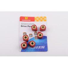 Купить Ролики вариатора (тюнинг)   4T GY6 125/150   18*14   17,0г   (красные)   DONGXIN в Интернет-Магазине LIMOTO
