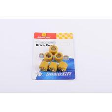 Купить Ролики вариатора   4T GY6 125/150   18*14   16,0г   (желтые)   DONGXIN в Интернет-Магазине LIMOTO