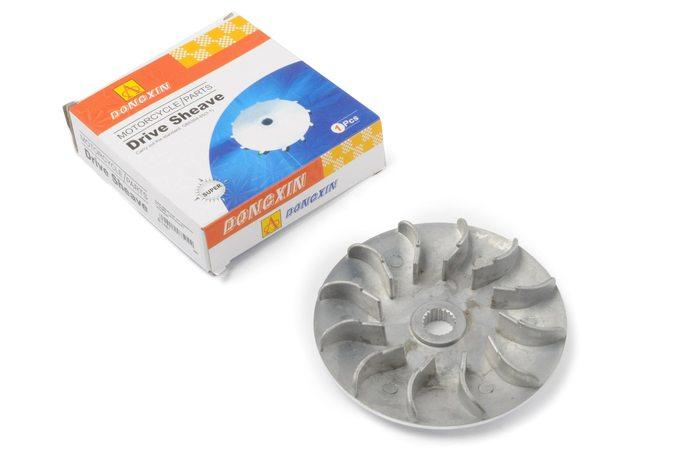Купить Щека вариатора неподвижная   4T CH250   (алюминий)   DONGXIN в Интернет-Магазине LIMOTO