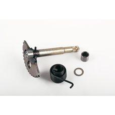 Купить Сектор заводной (полумесяц)   4T GY6 125/150   (L-147mm)   (+пружина, втулка)   KICK в Интернет-Магазине LIMOTO