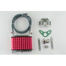 Купить Радиатор масляный   (красный)   RIDE IT в Интернет-Магазине LIMOTO