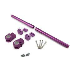 Купить Руль универсальный (клипоны)   (фиолетовый)   MAXI в Интернет-Магазине LIMOTO