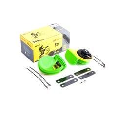 Сигнал   (улитка) электрический двухтональный (зеленый) (пара)   SUV