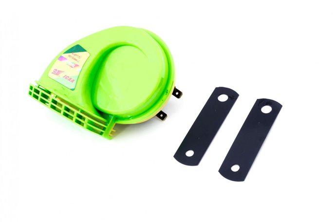 Купить Сигнал   (улитка) электрический двухтональный (зеленый)   SUV в Интернет-Магазине LIMOTO
